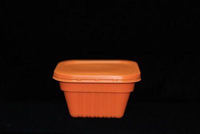 146桔色三套碗