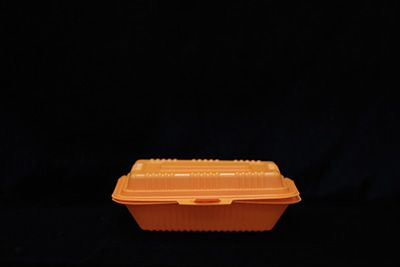 桔色米饭盒