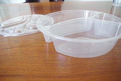 展示注塑餐盒