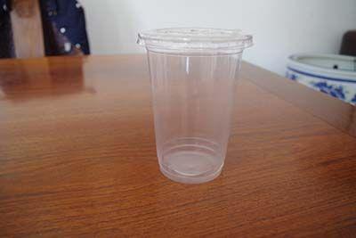 平盖饮料杯