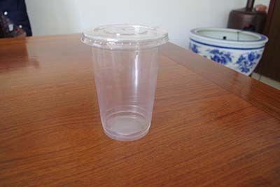 平面盖子饮料杯